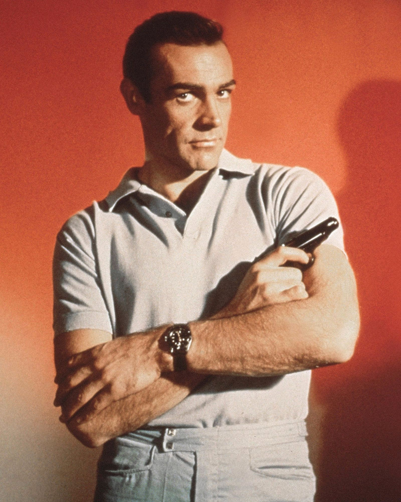 Sean-Connery-wearing a Rolex-Submariner 6538
