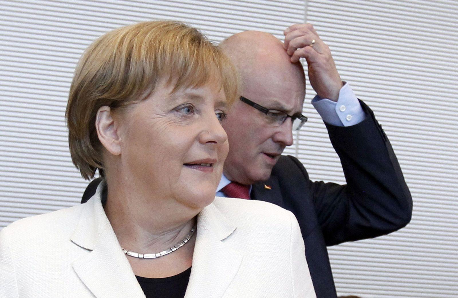 Merkel/ Kauder
