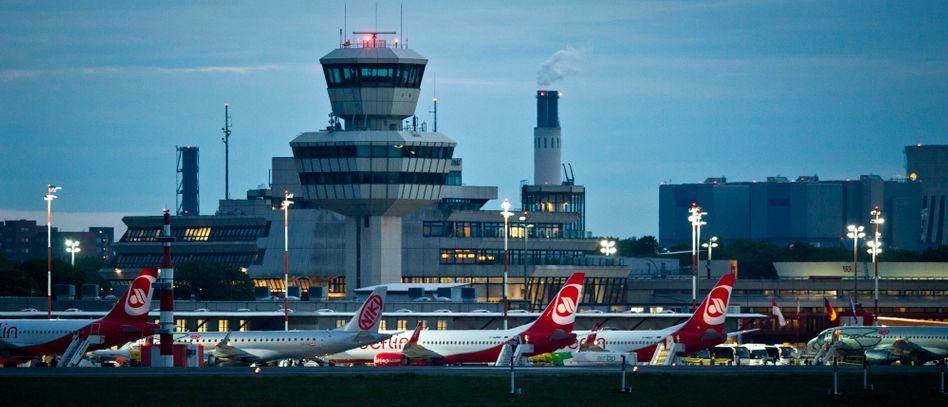 Flugzeuge von Air Berlin auf dem Flughafen Tegel: Eine Task Force soll alles koordinieren.