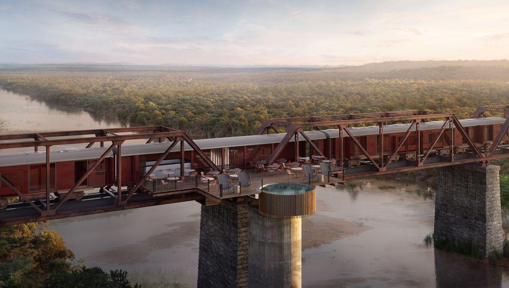 Kruger Shalati: Das Luxushotel auf der Eisenbahnbrücke