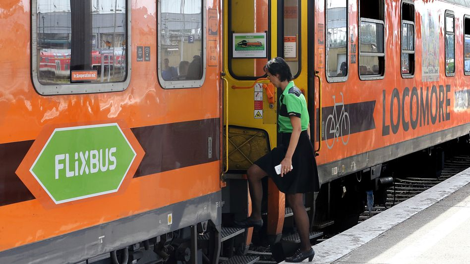 Locomore: Flixbus-Testzug