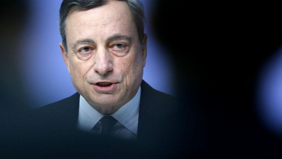 In der Kritik: EZB-Chef Mario Draghi