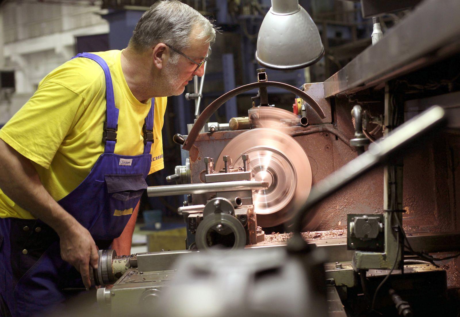 Deutschland / Konjunktur / Maschinenbau