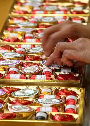 Meister im Warenexport: Auch Lübecker Marzipan ist im Ausland ein Verkaufsschlager
