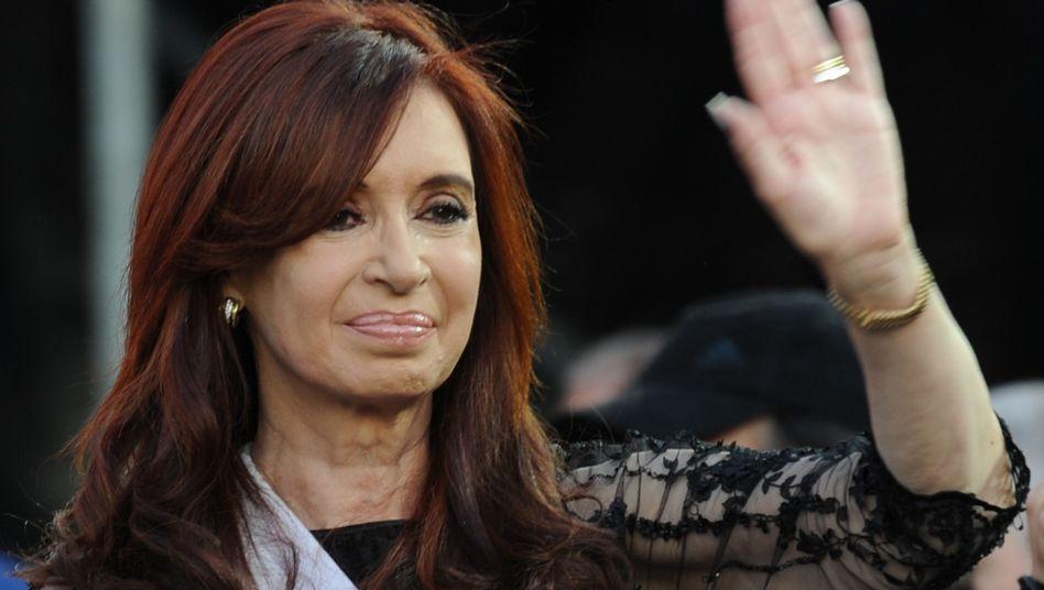 Cristina Fernandez de Kirchner: Es wird eng für Argentiniens Präsidentin, die Finanzierung am Kapitalmarkt könnte durch die Abstufung teurer werden