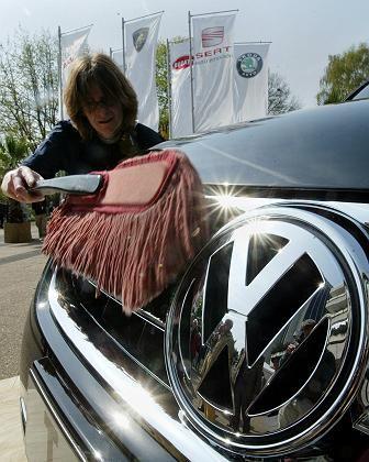 Aufpoliert: Volkswagen präsentiert sich zuversichtlich für die Zukunft
