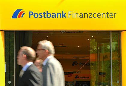 Kräftig gestiegen: Aktien der Postbank drehten im Handelsverlauf ins Plus