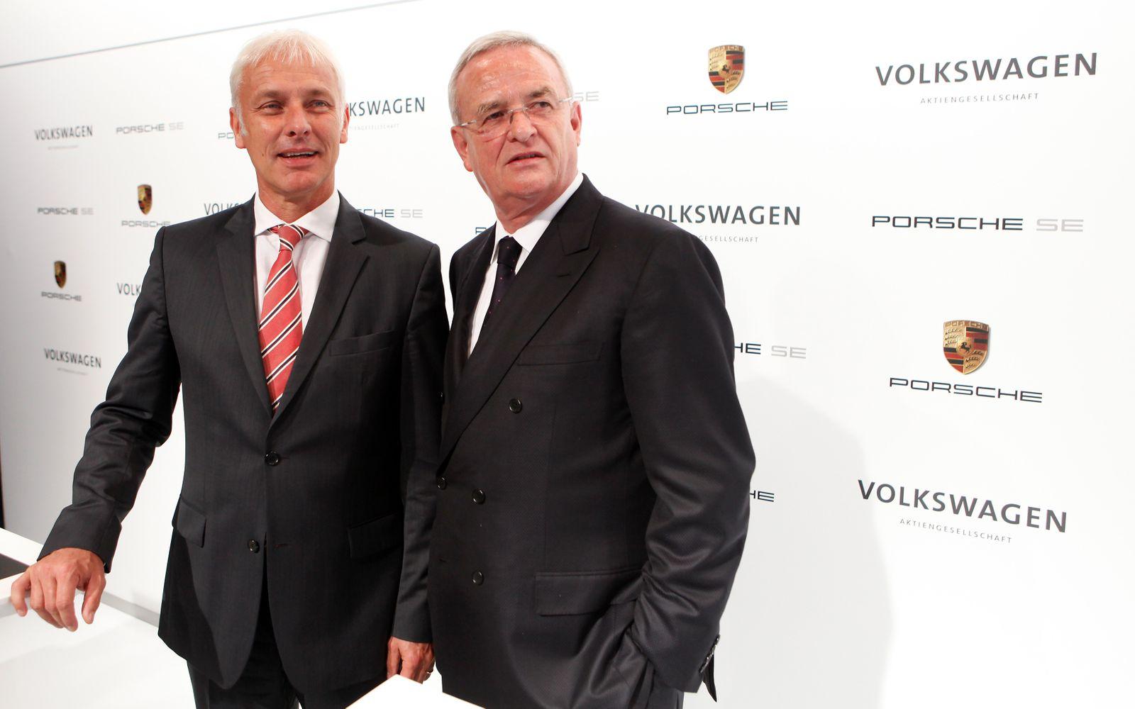 NICHT VERWENDEN Matthias Mueller / Martin Winterkorn
