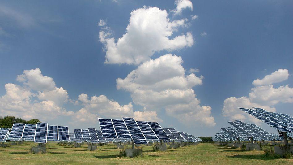 Solaranlage: Eine Studie der Unicredit sieht in der drohenden Nuklearkatastrophe Chancen für die Solarindustrie
