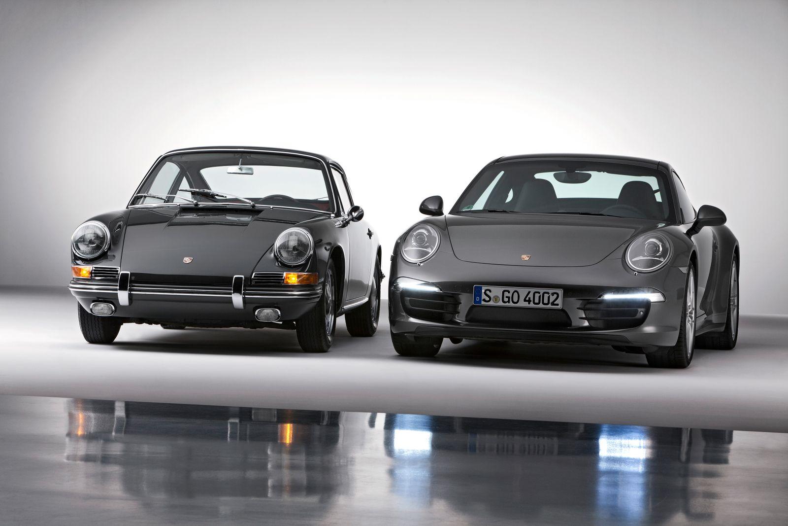 Porsche 911 Coupé (Baujahr 1964) / Porsche 911 Carrera 4S Coupé