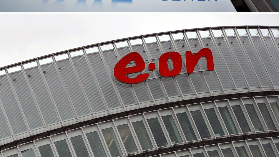 RWE hat im ersten Quartal seinen operativen Gewinn überraschend stark gesteigert, Wettbewerber Eon hingegen fiel hier im ersten Quartal zurück