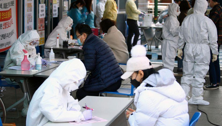 höchste Warnstufe für Infektionskrankheiten in Südkorea