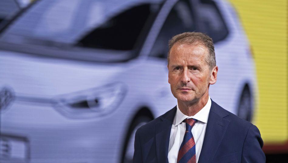 Gibt die Markenführung bei VW ab: Herbert Diess.