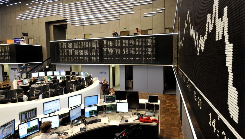 Börse in Frankfurt: Neue Umfragen aus Griechenland sorgen für ein wenig Optimismus