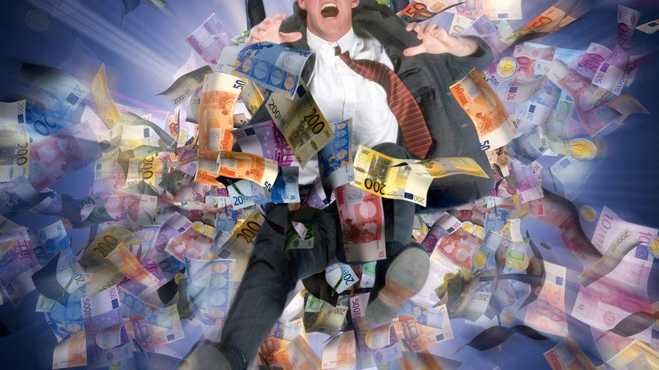 Geldregen: Ganz so viel wird es bei TAG Immobilien nicht werden - aber bis zu 41 Millionen Euro soll die Kapitalerhöhung schon bringen