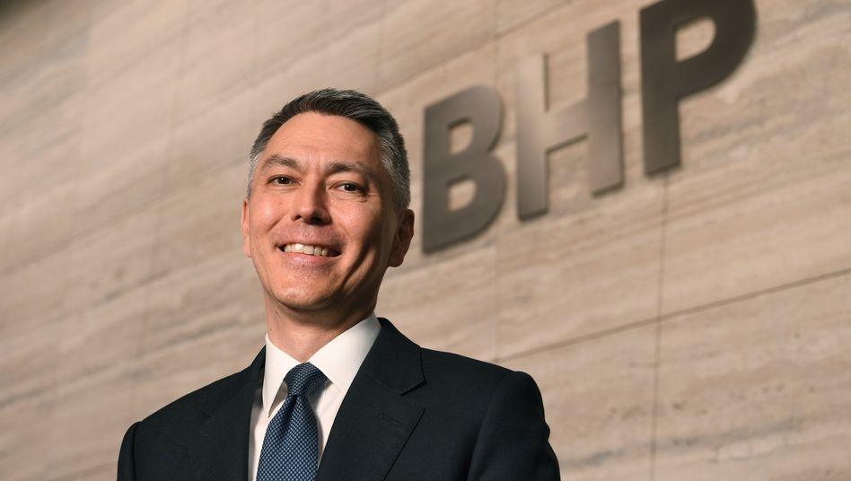 Mike Henry: Der bisherige Australien-Chef soll neuer Konzernchef von BHP werden