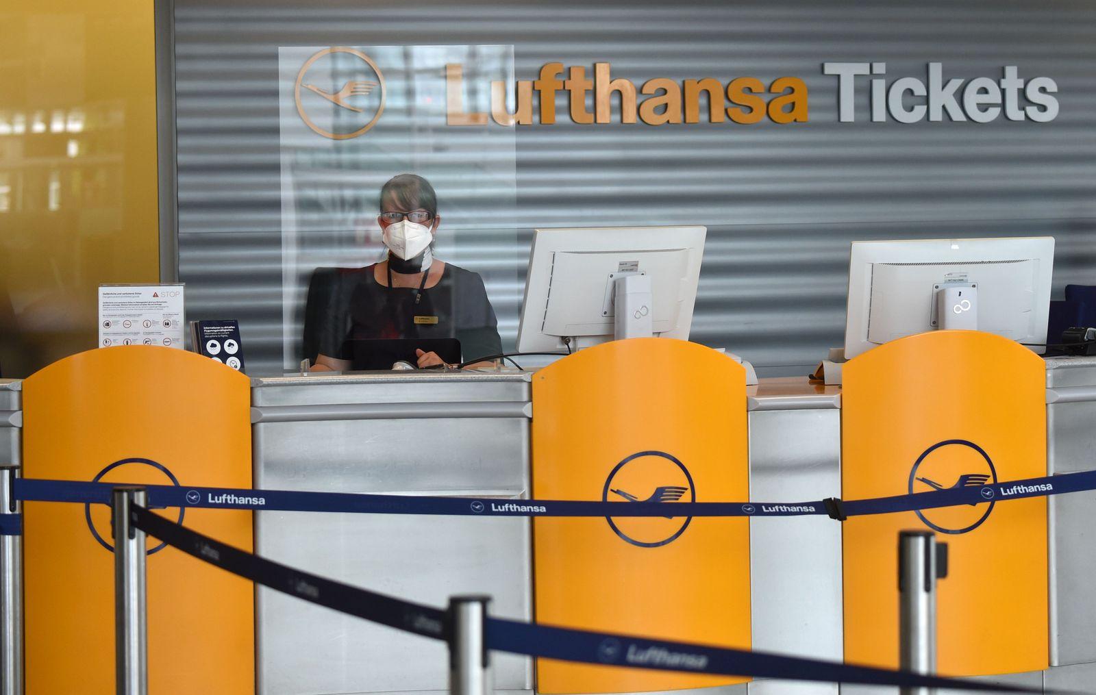 Lufthansa / Schalter