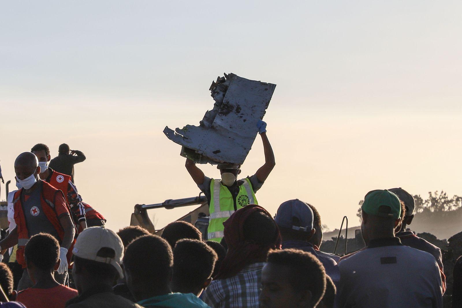 Ethiopian Airlines Boeing Absturz