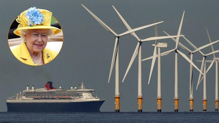 Großbritannien setzt auf Windenergie: Die Queen verdient Millionen mit Offshore-Windkraft
