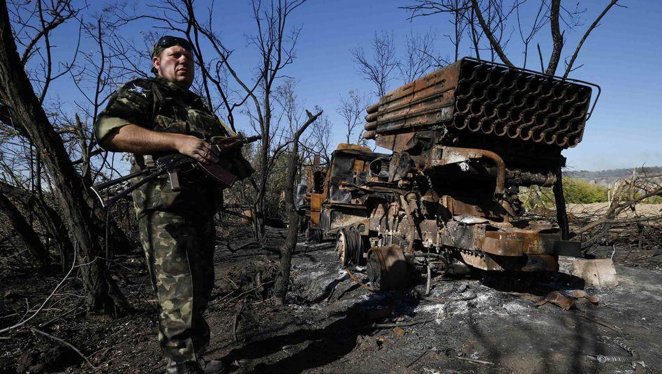 Unruhige politische Weltlage: Krisen wie der Konflikt in der Ukraine trüben die Stimmung der deutschen Unternehmerschaft