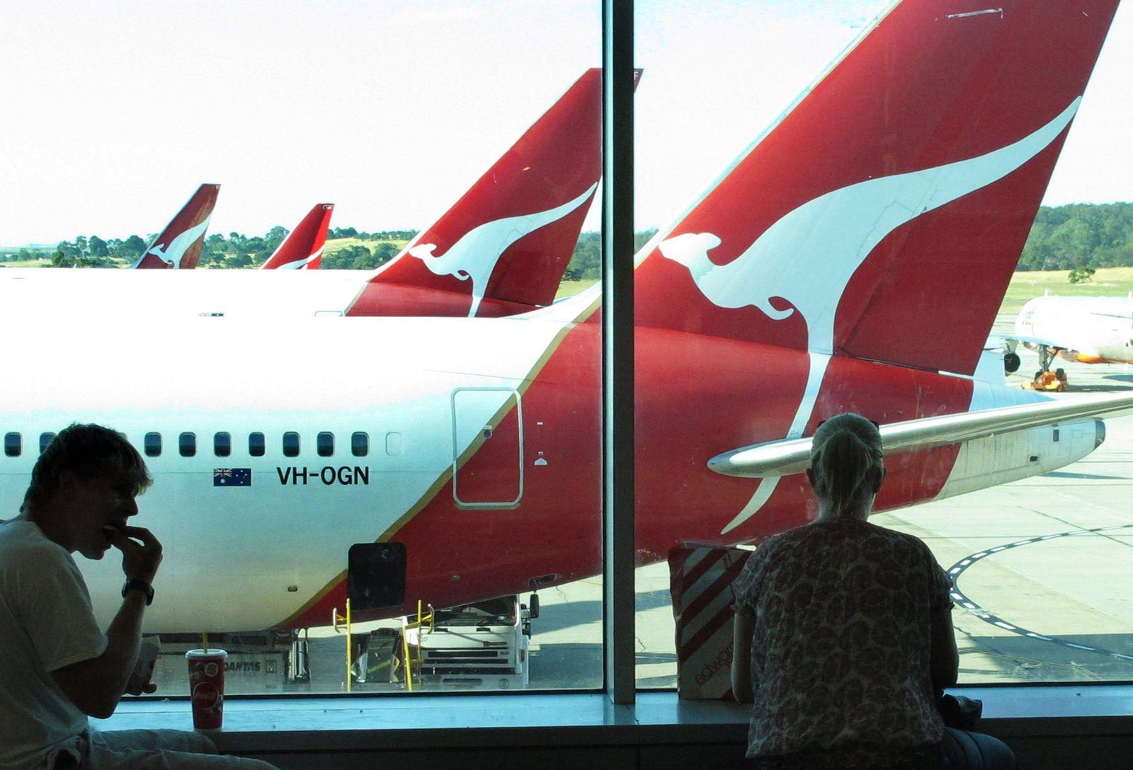Australian airline carrier Qantas
