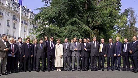Die EU-Finanzminister - hier versammelt in Versailles
