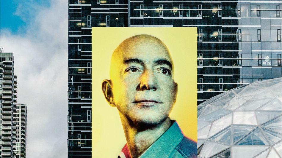 """LICHTGESTALTJeff Bezos verfährt nach dem Prinzip """"Es ist einfacher, die Zukunft zu erfinden, als sie vorauszusehen"""""""