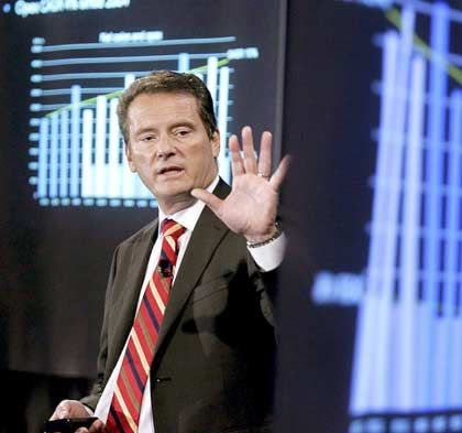 Baut kräftig aus: Der Ericsson-Chef Svanberg hat bereits ein Auge auf die norwegische Tandberg Television geworfen