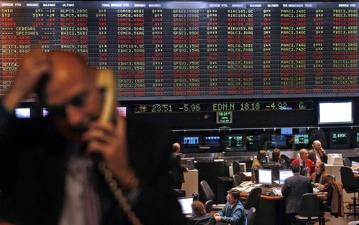 Börse in Buenos Aires: 2015 bislang mit beinahe 40 Prozent im Plus - und weltweit spitze