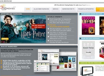 PCs als Server-Ersatz: in2movies funktioniert nach dem Download-to-own-Prinzip