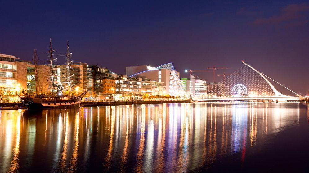 Dublin: Lichter der Kleinstadt