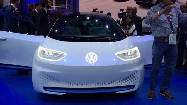 Batterie-Designstudie mit 600 Kilometern Reichweite: So sieht der erste echte Elektro-Volkswagen aus