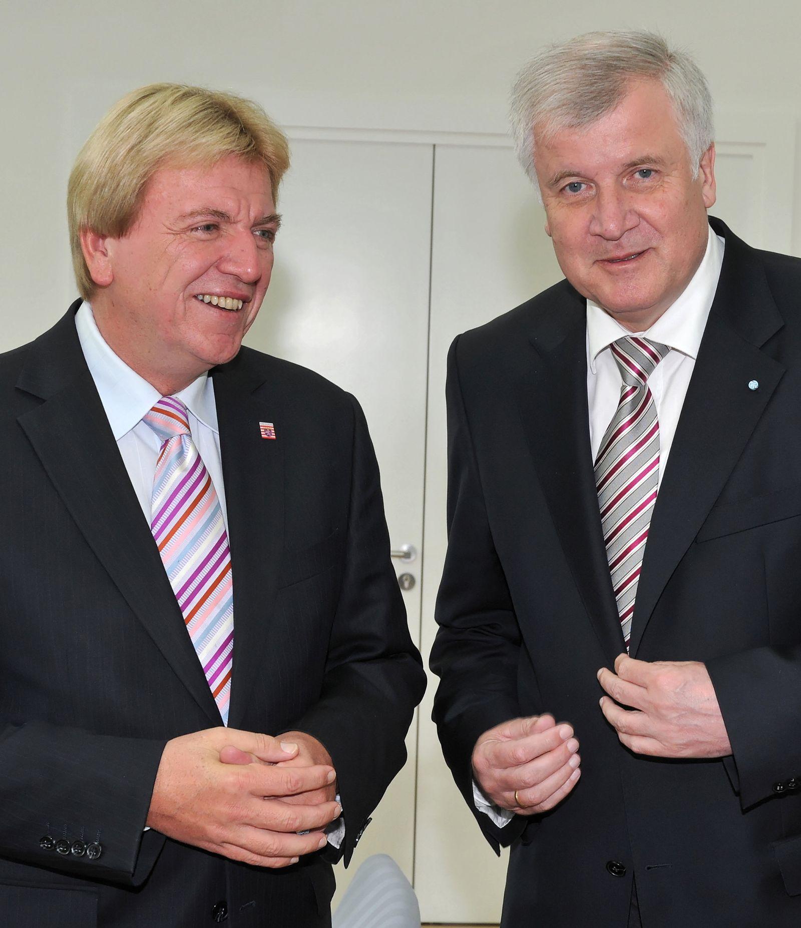 Horst Seehofer und Volker Bouffier