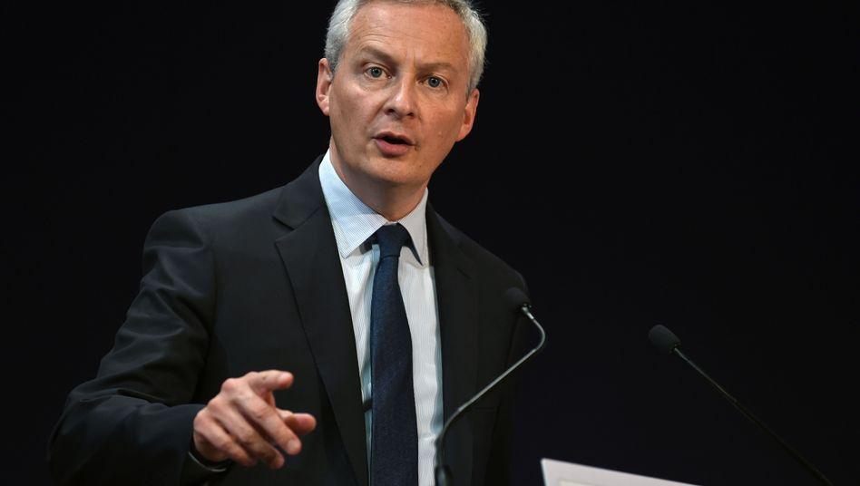 Will Frankreich in der Krise vor dem Ausverkauf schützen: Finanzmister Bruno Le Maire