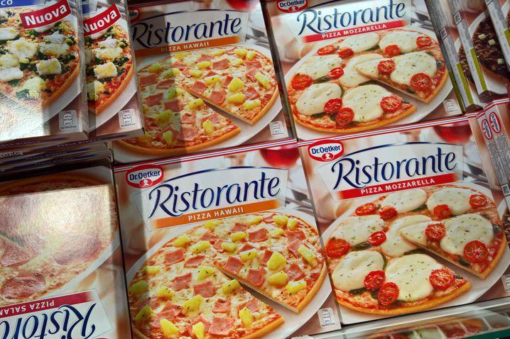 In Stücke teilen und in Ruhe genießen: Gilt für Pizza und womöglich auch für den Hersteller.