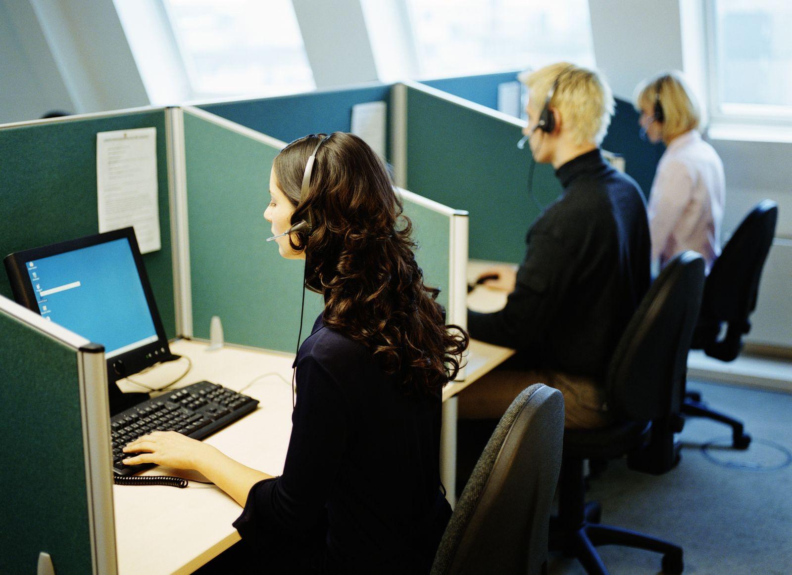 NICHT MEHR VERWENDEN! - Großraumbüro / Kollegen / Büroarbeit / Callcenter / Telefonieren