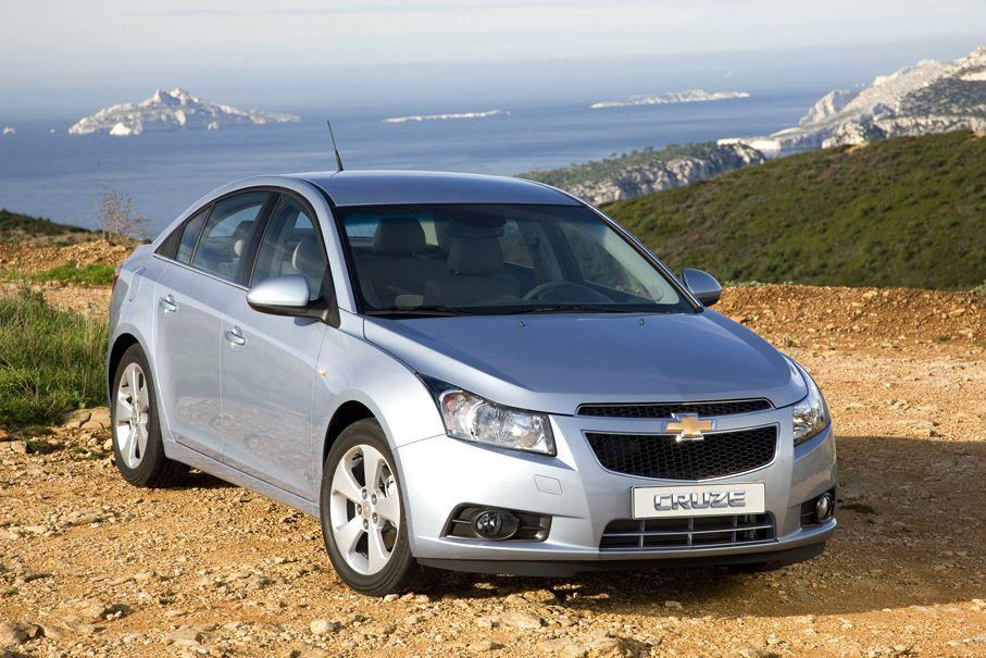 Chevrolet Cruze / Die zehn meistverkauften Autos 2011
