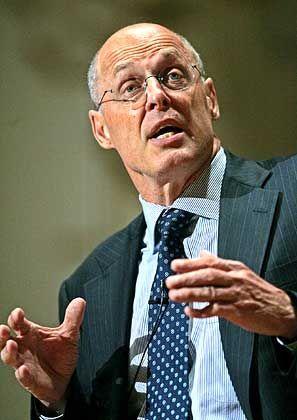 Warnt vor Belastungen: US-Finanzminister Henry Paulson