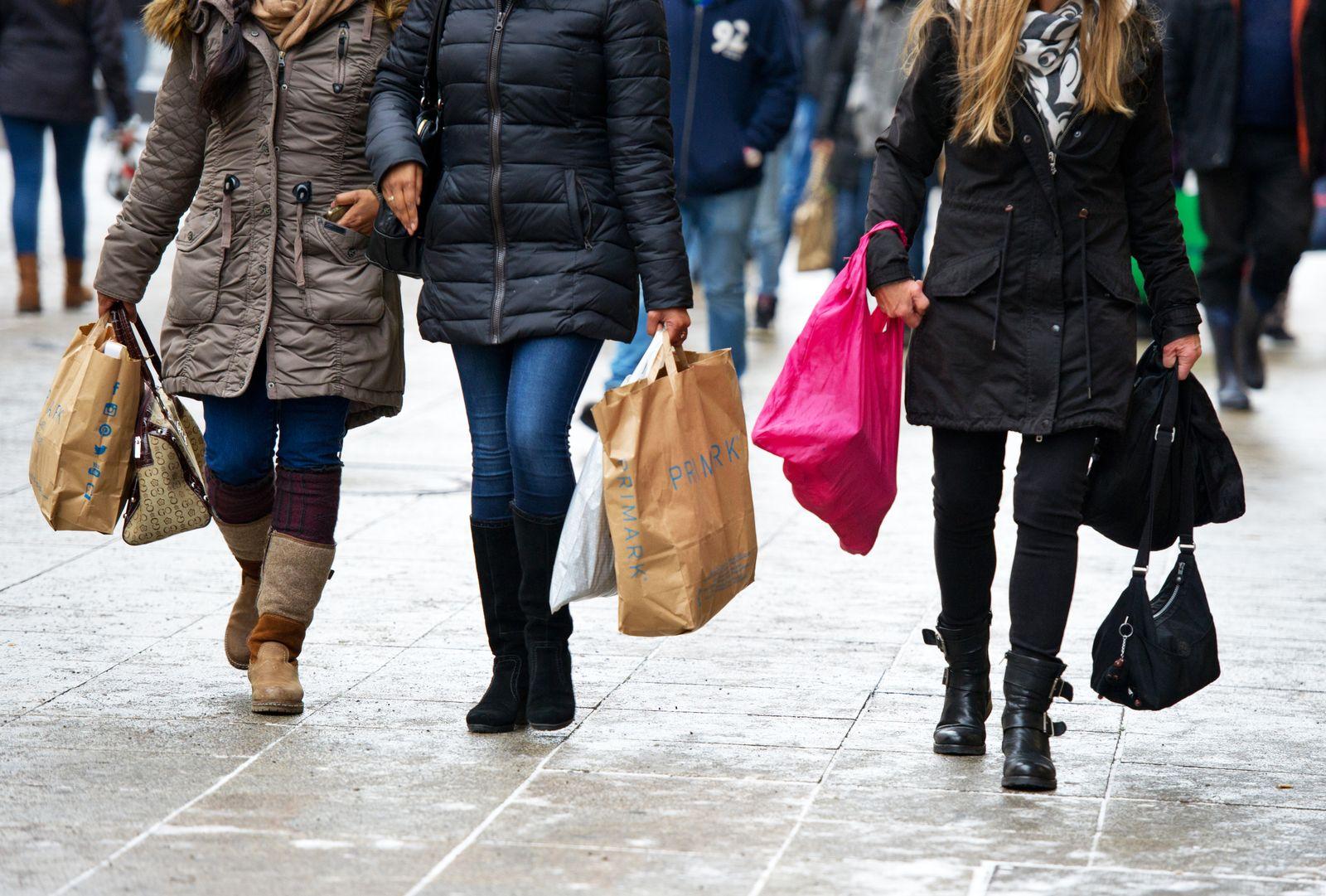 Deutschland / Konjunktur / Konsum / Verbraucher / Shopping in Stuttgart