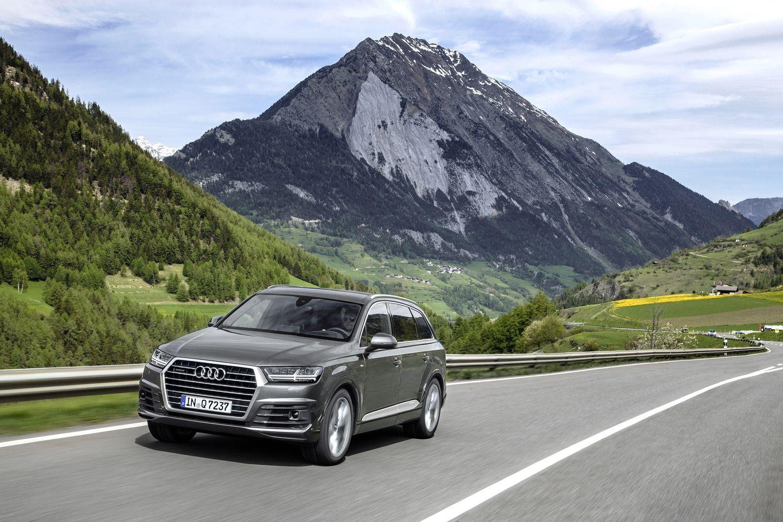 Lieblinge der Autodiebe 2015 / Audi Q7