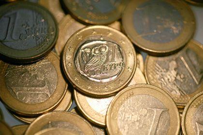 Griechische Euro-Münze: Wird Griechenland bankrottgehen?