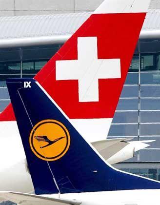 Lufthansa und Swiss: Immerhin der Name der Schweizer Airline bleibt erhalten