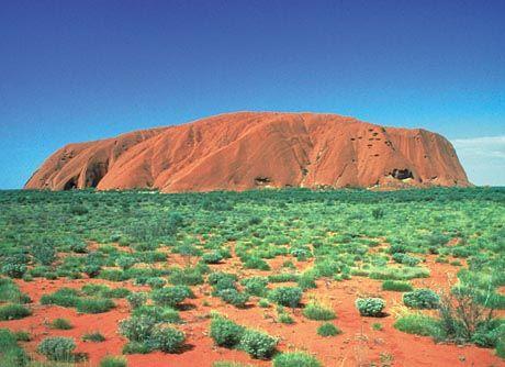 Wo nur, ist Germanus Pause? Ayers Rock in Australien