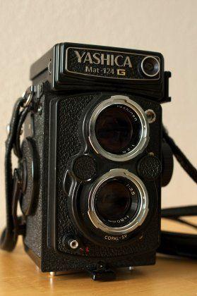 Rolleiflex-Kopie: Yashica 124-G
