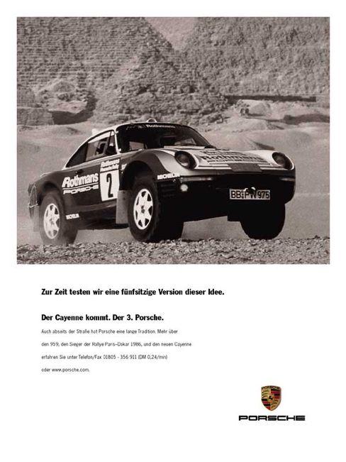 Hoffnungsträger: Porsche Cayenne