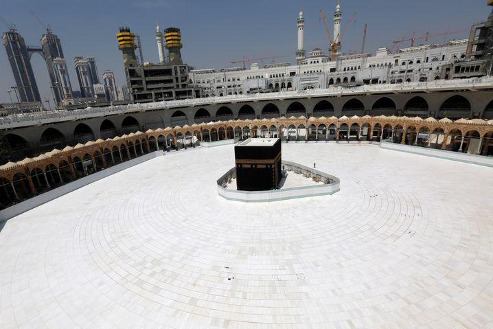 Moschee in Saudi-Arabien