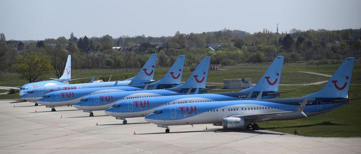 Fliegen nur mit Kohle: Die Flotte von Tui während der Pandemie