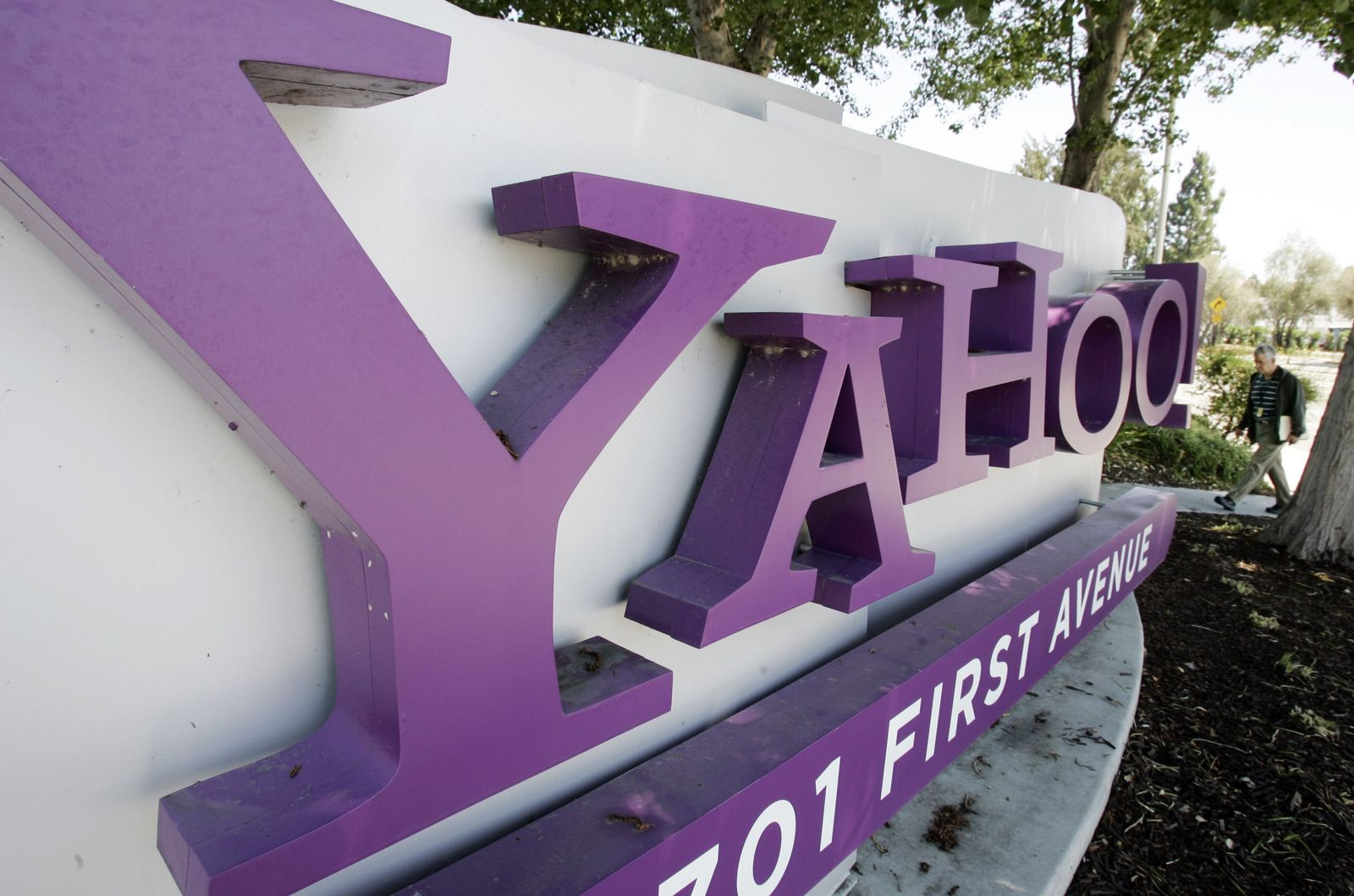 Yahoo Hauptquartier in Sunnyvale