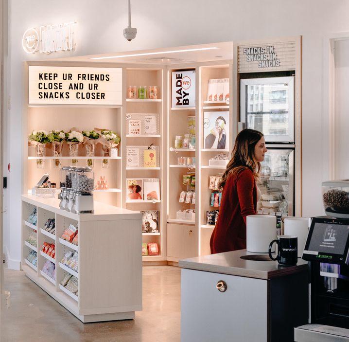 WeMKT: Künftig kann man auch bei WeWork shoppen - und verkaufen