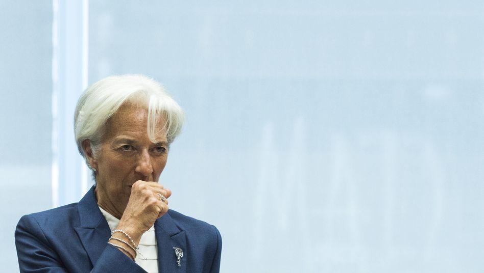 IWF-Chefin Christine Lagarde